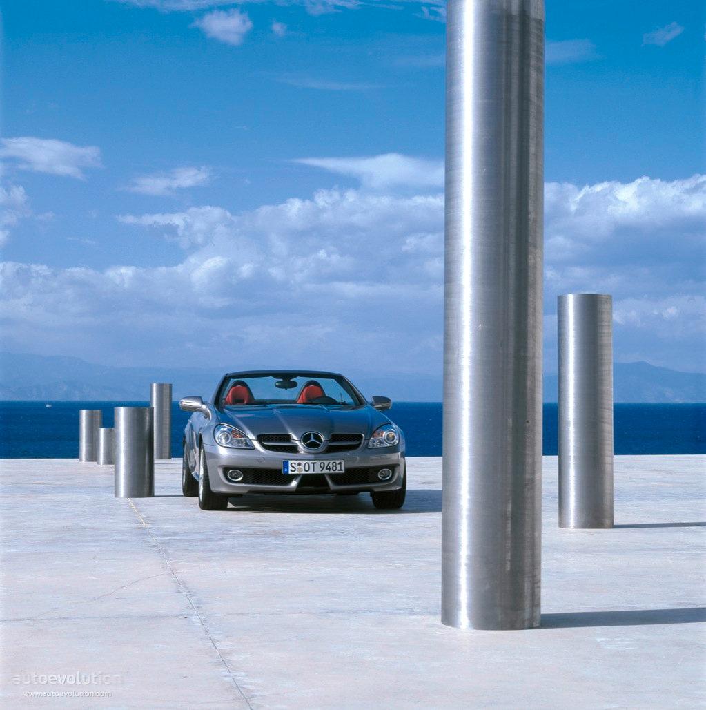 Mercedes-Benz SLK - cover