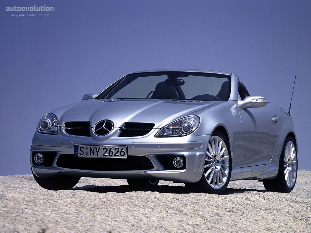 mercedes benz slk 55 amg r171 specs 2004 2005 2006 2007 2008 autoevolution. Black Bedroom Furniture Sets. Home Design Ideas