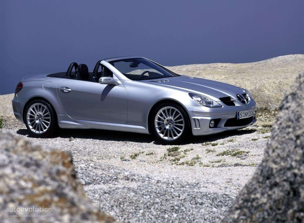 mercedes benz slk 55 amg r171 specs photos 2004. Black Bedroom Furniture Sets. Home Design Ideas