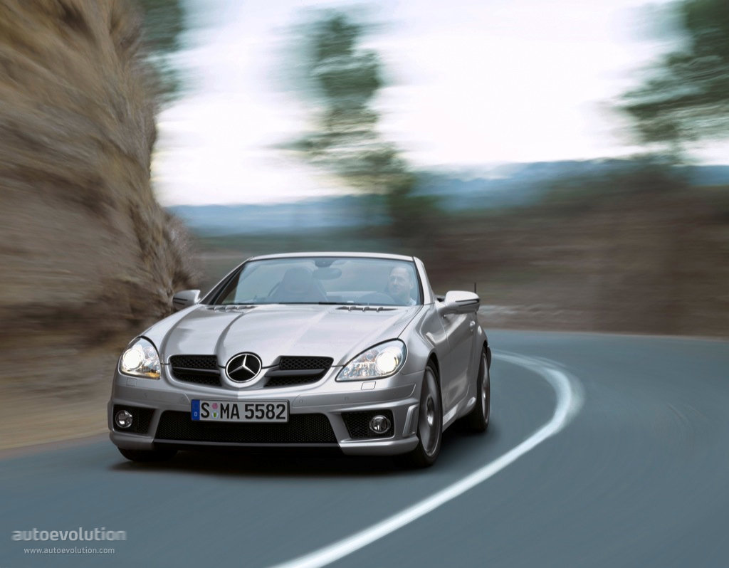 mercedes benz slk 55 amg r171 specs 2008 2009 2010 2011 autoevolution. Black Bedroom Furniture Sets. Home Design Ideas