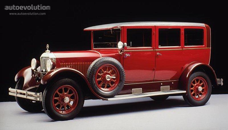 Mercedes benz typ 12 55 14 60 w03 w04 w05 1926 1927 for 1929 mercedes benz