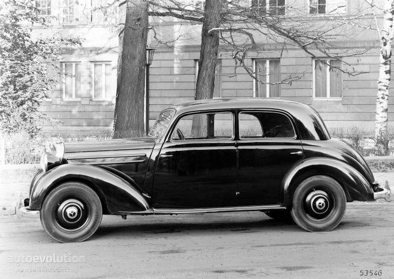 Mercedes Diesel Engines >> MERCEDES BENZ Typ 170 (W136/W191) specs & photos - 1946, 1947, 1948, 1949, 1950, 1951, 1952 ...