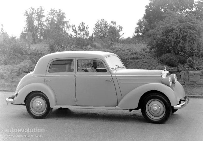 Mercedes benz typ 170 w136 w191 1946 1947 1948 1949 for 1949 mercedes benz