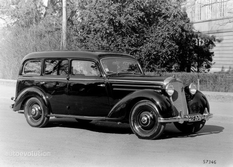 Mercedes benz typ 170 w136 w191 specs 1946 1947 1948 for 1946 mercedes benz