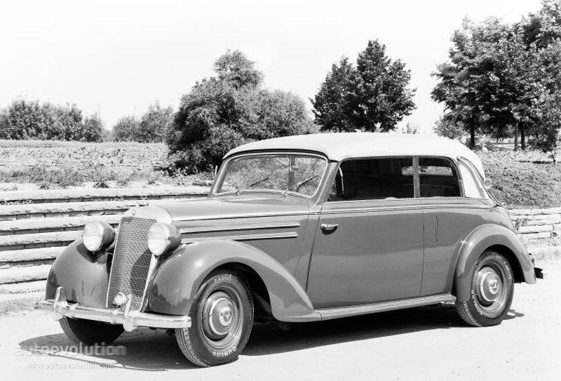 Mercedes benz typ 170 cabriolet w136 specs 1949 1950 for 1949 mercedes benz