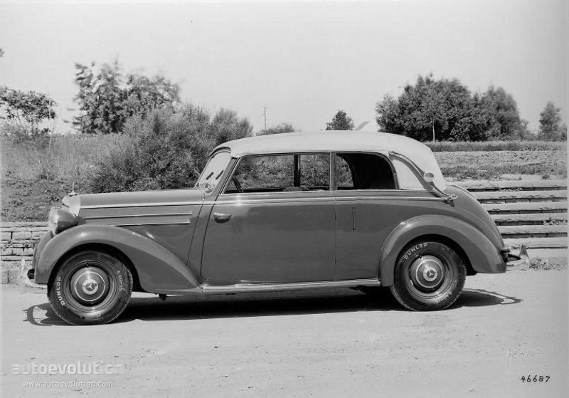 Mercedes benz baujahr 1949 for 1949 mercedes benz