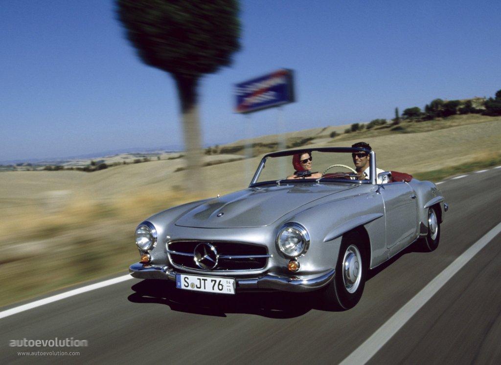 Mercedes benz typ 190 sl roadster w121 1955 1956 for 1955 mercedes benz 190sl