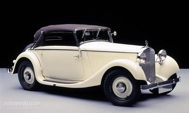 Mercedes Benz Typ 200 Cabriolet A W21 Specs 1934 1935