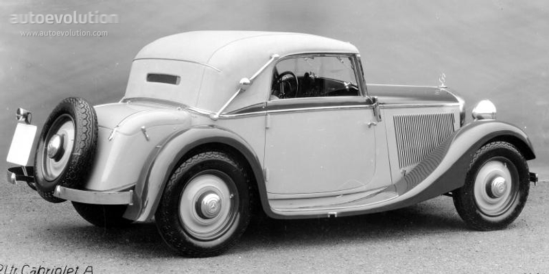 Sedan Vs Coupe >> MERCEDES BENZ Typ 200 Cabriolet A (W21) specs - 1934, 1935, 1936 - autoevolution