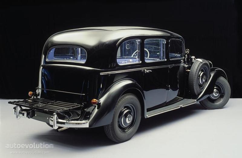 Mercedes benz typ 260 d w138 specs 1936 1937 1938 for Mercedes benz 260