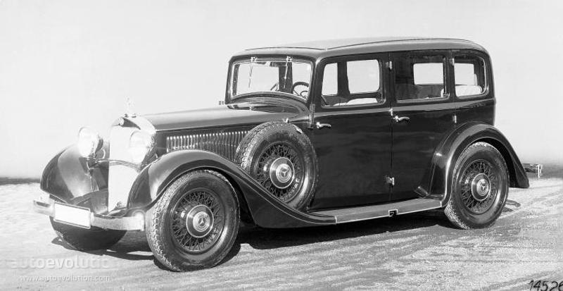 Mercedes Benz Typ 290 W18 Specs Amp Photos 1933 1934