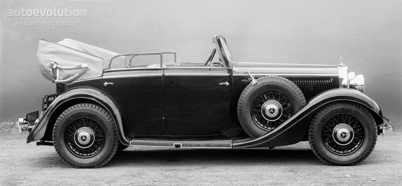 MERCEDES BENZ Typ 290 Cabriolet D (W18) specs & photos - 1934 ...