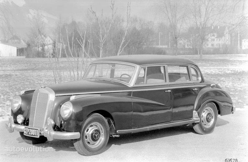 "MERCEDES BENZ Typ 300 ""Adenauer"" (W186) specs & photos ..."