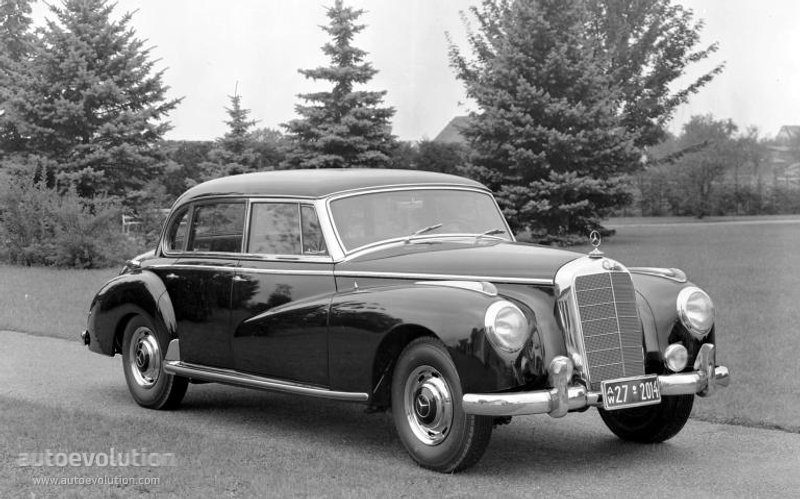 """MERCEDES BENZ Typ 300 """"Adenauer"""" (W186) - 1951, 1952, 1953 ..."""