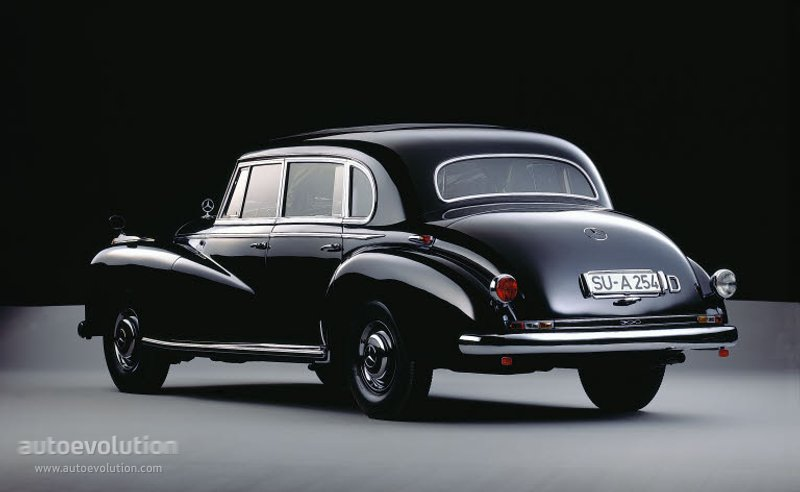 Mercedes Benz Typ 300 Quot Adenauer Quot W186 Specs 1951 1952