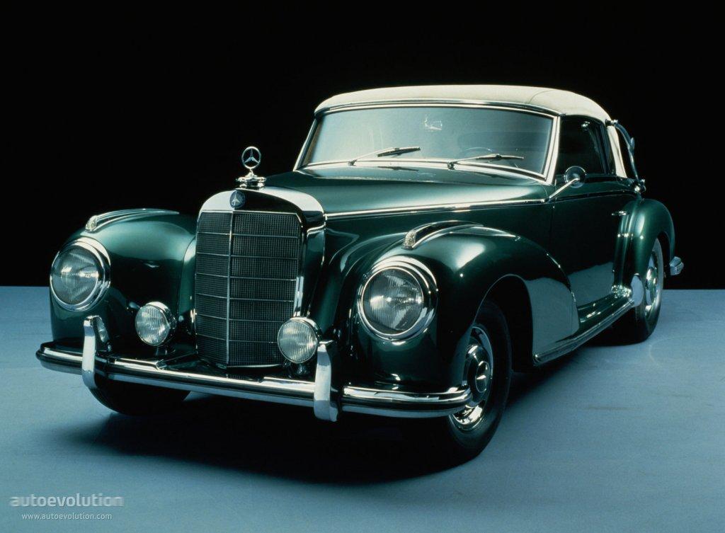 Mercedes benz typ 300 cabriolet a w188 specs 1952 for Mercedes benz vintage cars