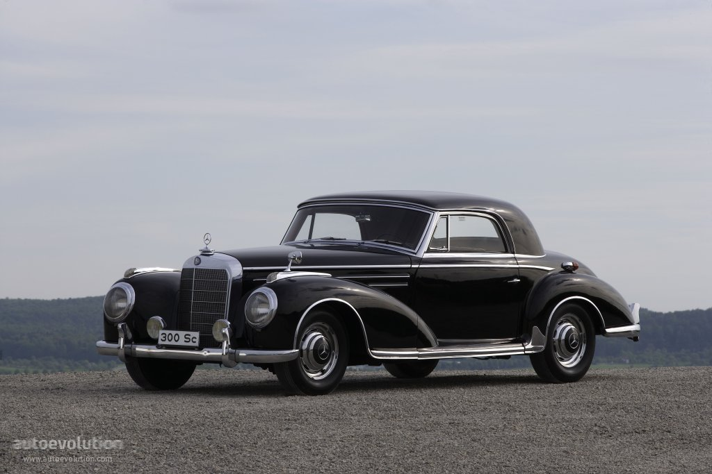 Mercedes benz typ 300 coupe w188 specs 1952 1953 for 1955 mercedes benz