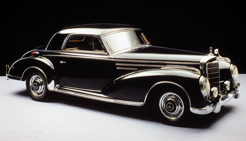 Mercedes benz typ 300 coupe w188 specs 1952 1953 for Mercedes benz 300s