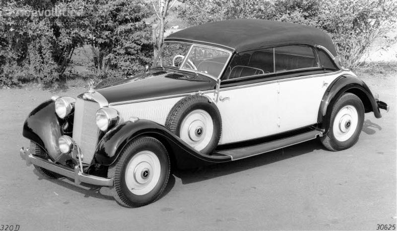 Mercedes Benz Typ 320 Cabriolet D W142 1937 1938