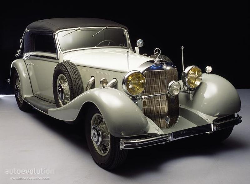 Mercedes benz typ 500 k cabriolet c w29 1934 1935 for Mercedes benz c 500