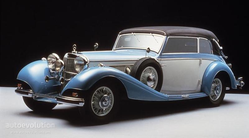 Mercedes Benz Typ 540 K Cabriolet B W29 Specs 1936