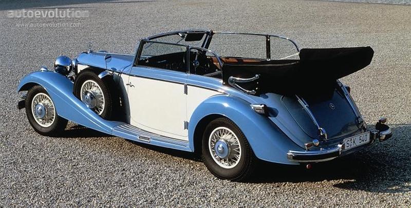 Mercedesbenztyp Kcabrioletb W on 1936 Mercedes Benz 540k