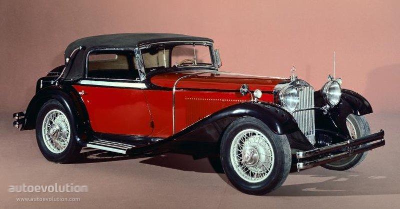 ... MERCEDES BENZ Typ Mannheim Cabriolet (W10) (1931 - 1933) ...