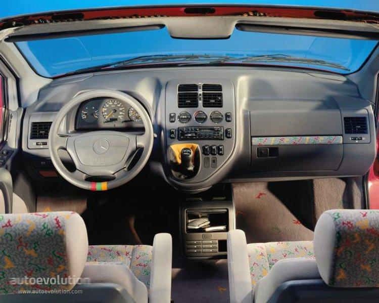 Mercedes Benz V Klasse W638 Specs Amp Photos 1996 1997