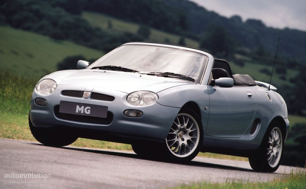 Mg F Specs Amp Photos 1995 1996 1997 1998 1999 2000