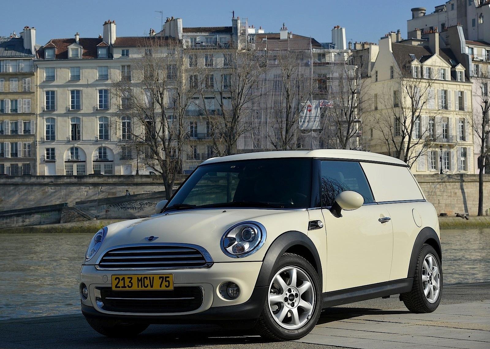 MINI Clubvan specs & photos - 2012, 2013, 2014, 2015, 2016 ...  Mini Clubvan