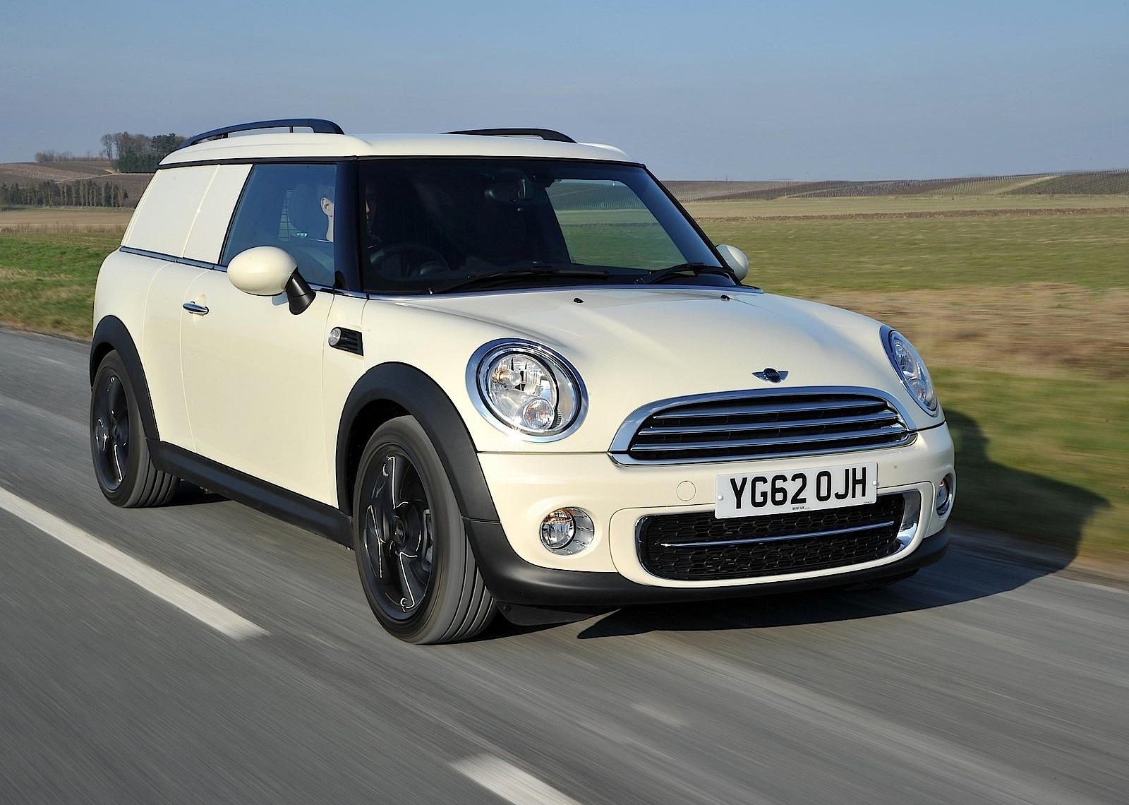 2013 MINI Clubvan Preview: Small Package Delivery  Mini Clubvan