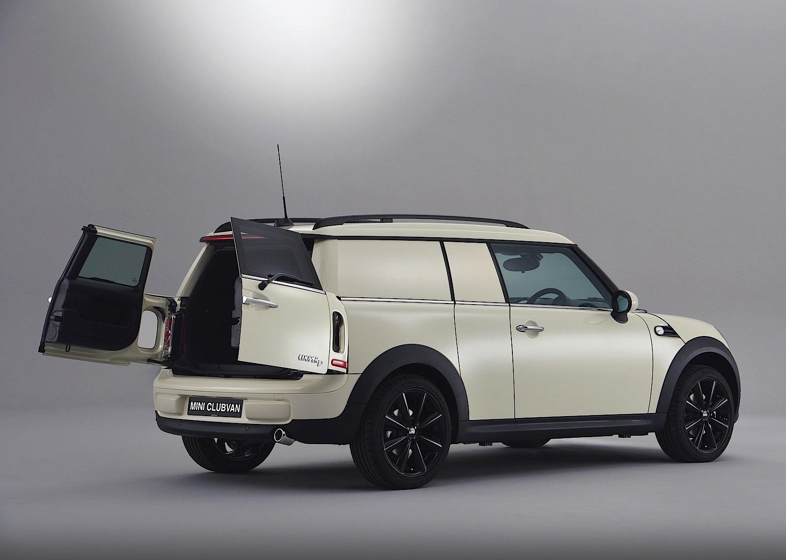 Mini Clubvan 2013 3D model - Vehicles on Hum3D  Mini Clubvan