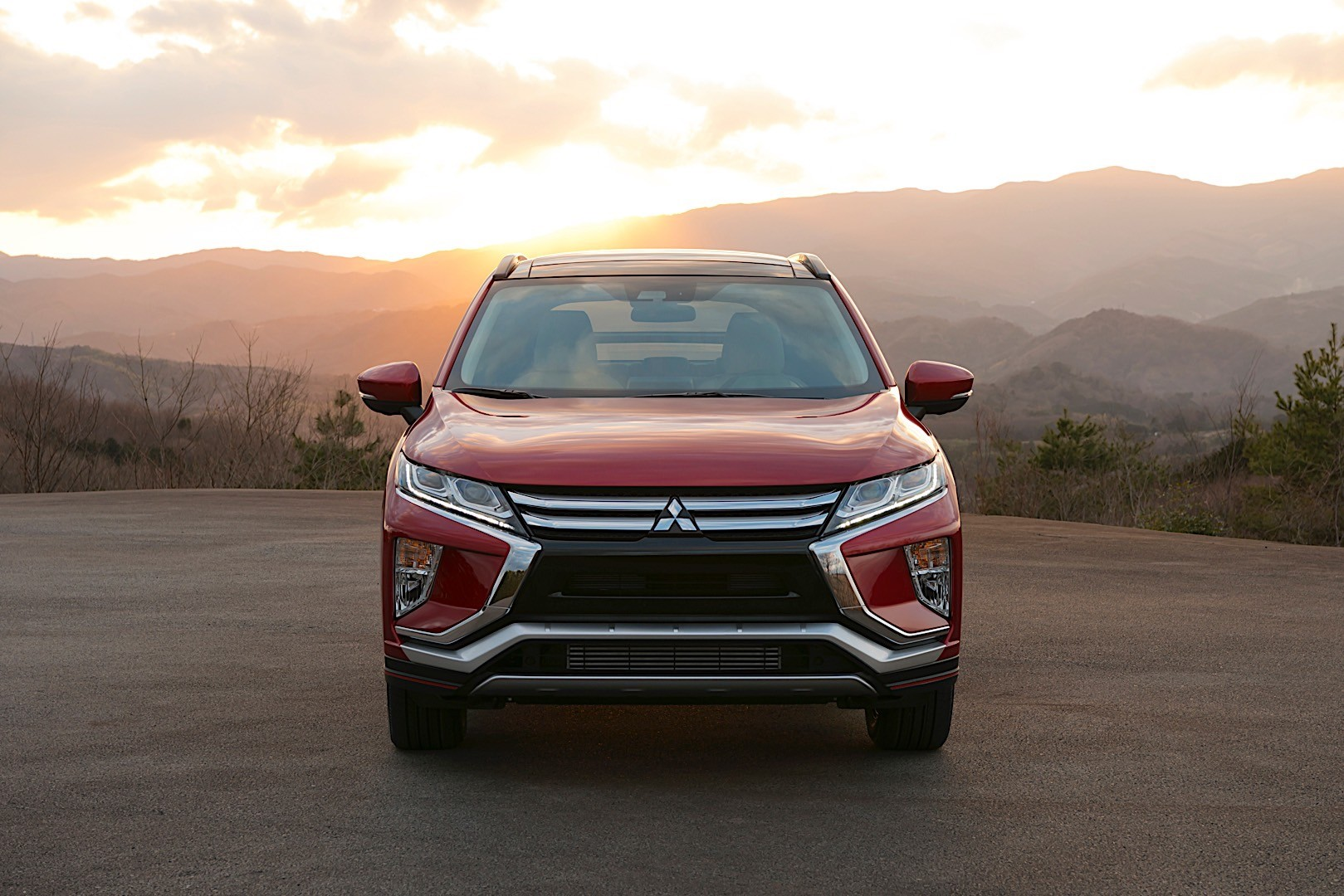 Mitsubishi Eclipse Cross Specs Photos 2017 2018 2019