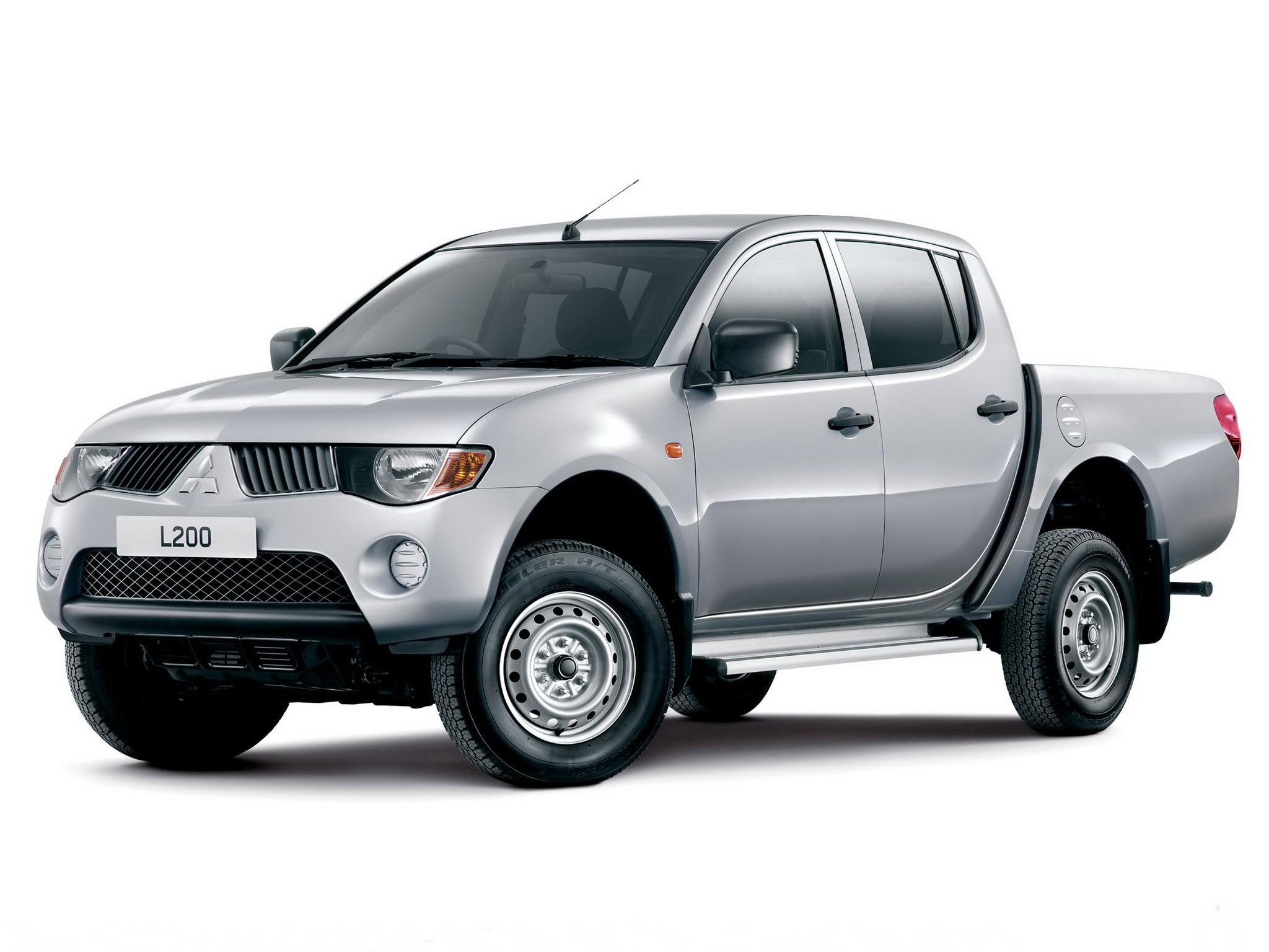Truck Bed Dimensions >> MITSUBISHI L 200/Triton Double Cab - 2005, 2006, 2007, 2008, 2009, 2010, 2011, 2012, 2013, 2014 ...