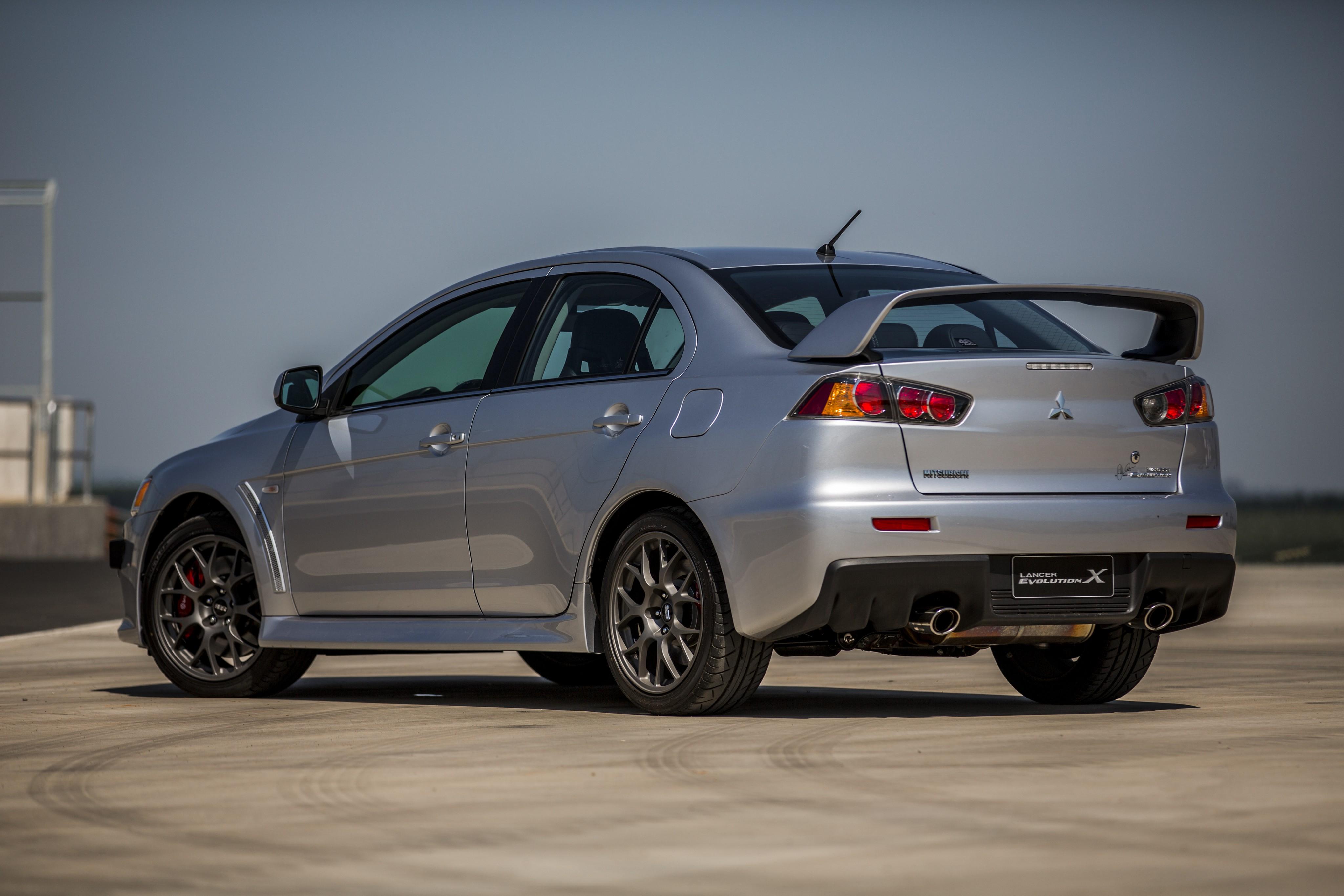 Mitsubishi lancer evolution x фото