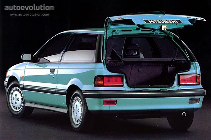 Mitsubishi colt 3 doors specs 1988 1989 1990 1991 1992 autoevolution