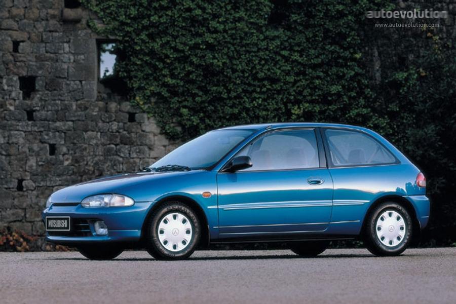 Mitsubishi Colt 3 Doors 1992 1993 1994 1995 1996