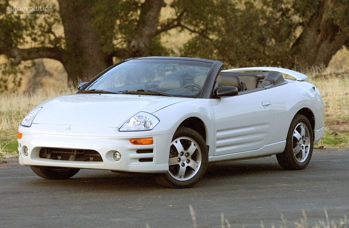 2003 Mitsubishi Eclipse Gts >> MITSUBISHI Eclipse Spyder - 2000, 2001, 2002, 2003, 2004, 2005 - autoevolution