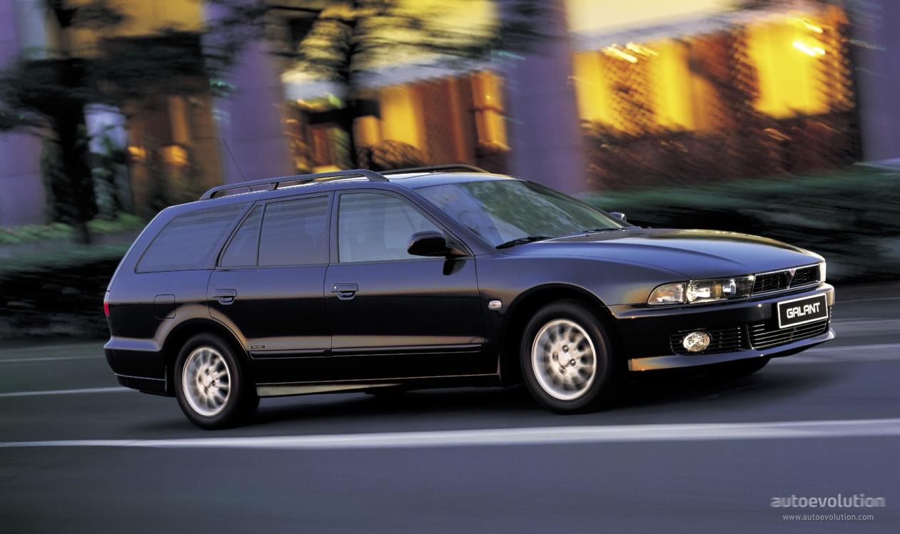 mitsubishi galant station wagon specs 1997 1998 1999