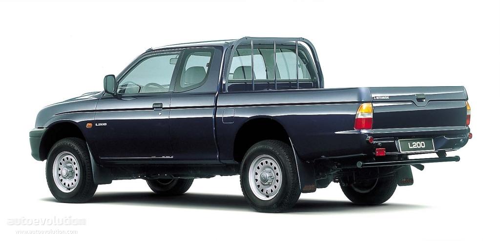 mitsubishi l200 crew cab specs photos 1995 1996 1997 1998 1999 2000 2001 2002 2003. Black Bedroom Furniture Sets. Home Design Ideas