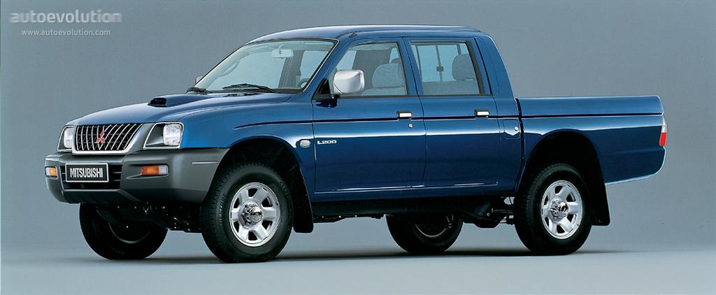 Mitsubishi L200 Double Cab Specs 1995 1996 1997 1998