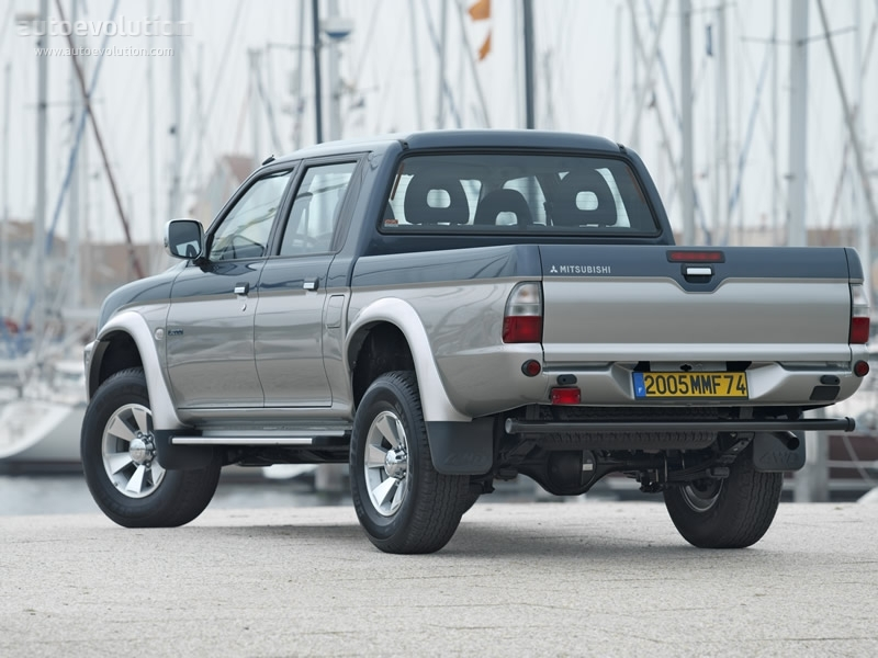 MITSUBISHI L200 Double Cab - 1995, 1996, 1997, 1998, 1999, 2000, 2001, 2002, 2003, 2004, 2005 ...