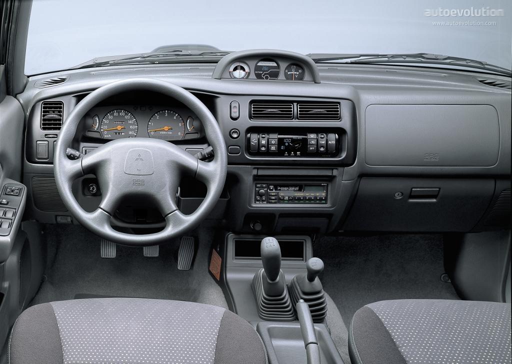 MITSUBISHI L200 Double Cab specs  1995 1996 1997 1998 1999