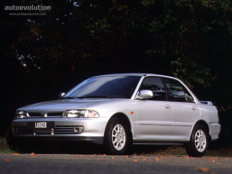 MITSUBISHI Lancer - 1994, 1995, 1996 - autoevolution