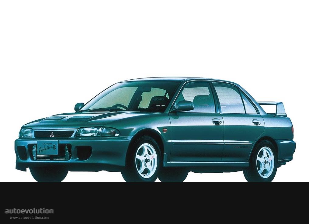 MITSUBISHI Lancer Evolution II - 1994, 1995 - autoevolution
