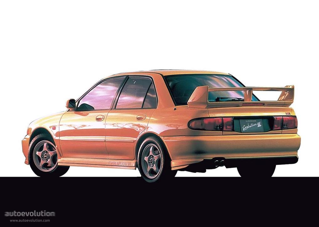 MITSUBISHI Lancer Evolution III (1995   1996) ...
