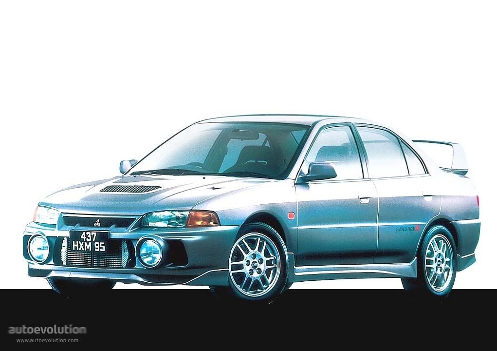 MITSUBISHI Lancer Evolution IV (1996   1998) ...