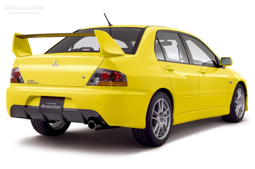 Mitsubishi lancer evolution ix specs 2005 2006 2007 autoevolution