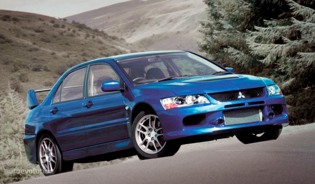 Mitsubishi Lancer Evolution Ix 2005 2006 2007