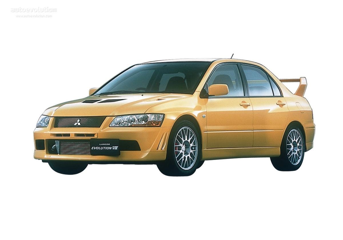 mitsubishi lancer evolution vii 2000 2003 - Mitsubishi Lancer Evo 2000